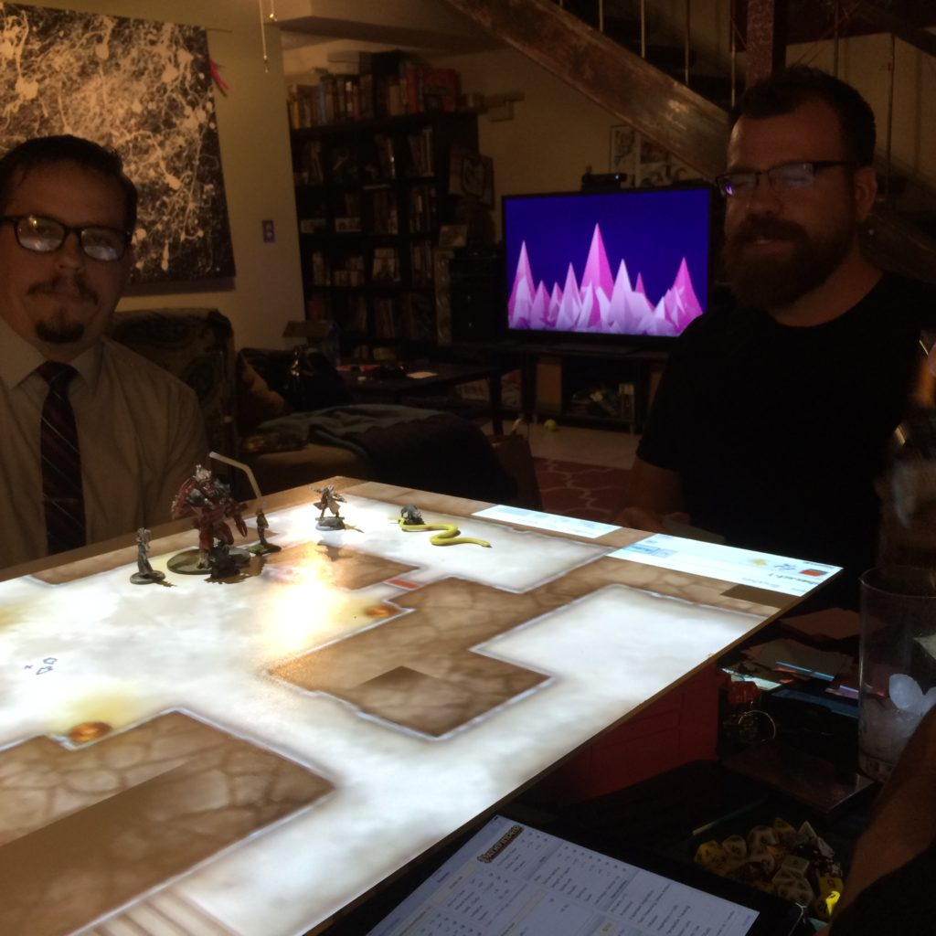 dnd projection table